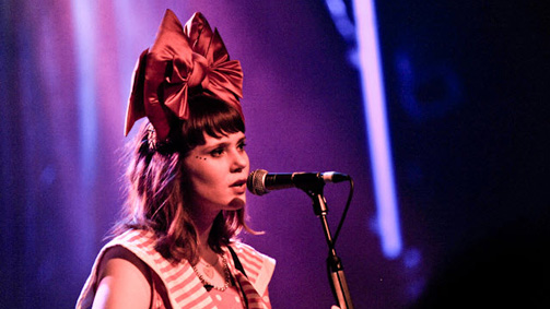Kate Nash, Melbourne, Victoria, Australia. Image courtesy of Billboard.