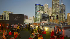 Rooftop Bar, Curtin House, Melbourne, Victoria, Australia