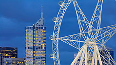 Melbourne Star Observation Wheel, Melbourne, Victoria, Australia