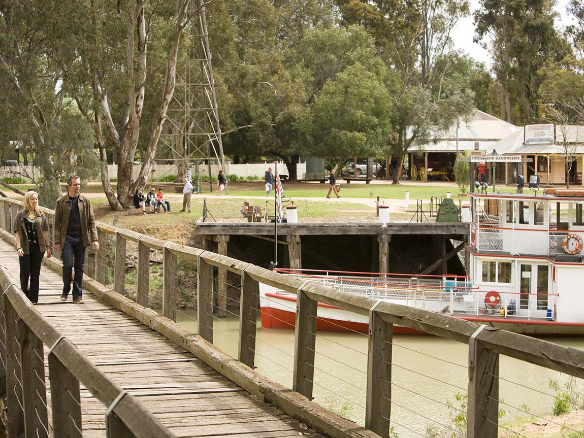 Pioneer Settlement, The Murray, Victoria, Australia
