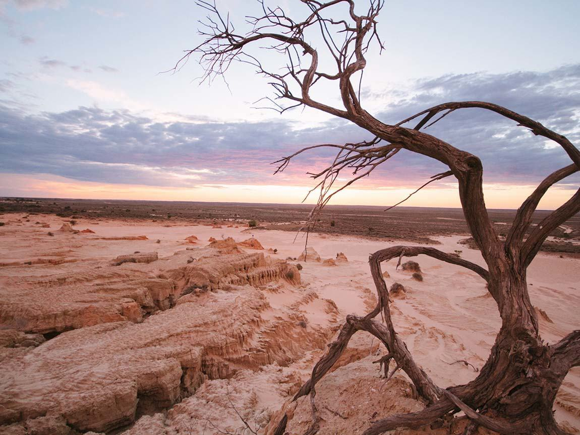 Mungo National Park, The Murray, Victoria, Australia. Image: Roberto Seba