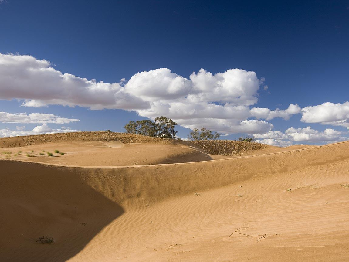 Perry Sandhills at Wentworth, The Murray, Victoria, Australia