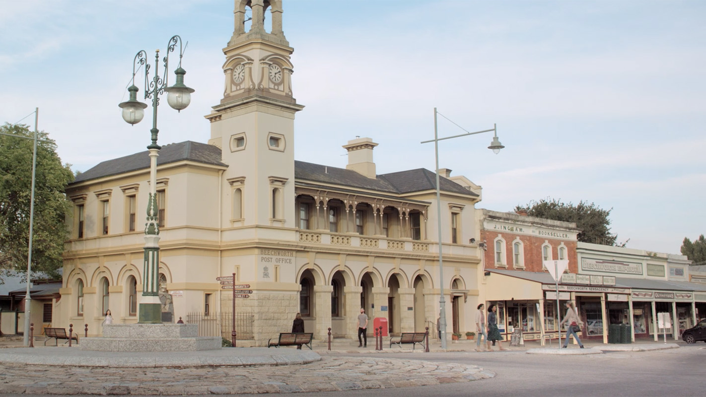 Ford Street, Beechworth, High Country, Victoria, Australia