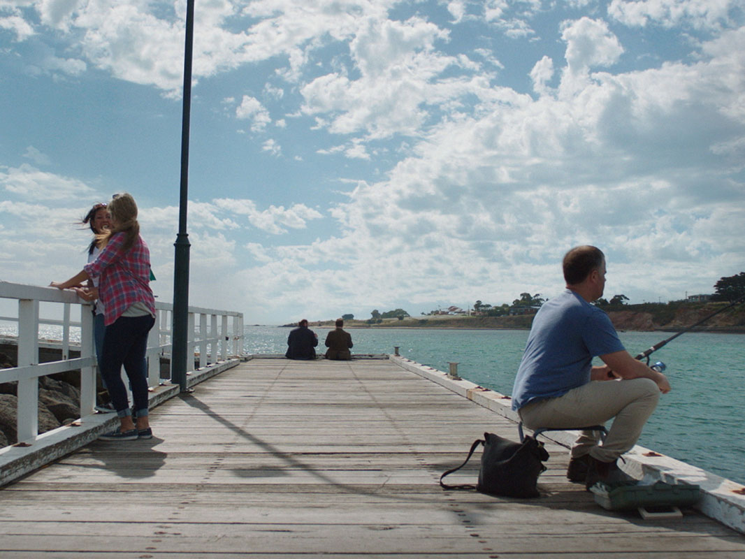 Wander Victoria. Portarlington Pier, Geelong and the Bellarine, Victoria, Australia