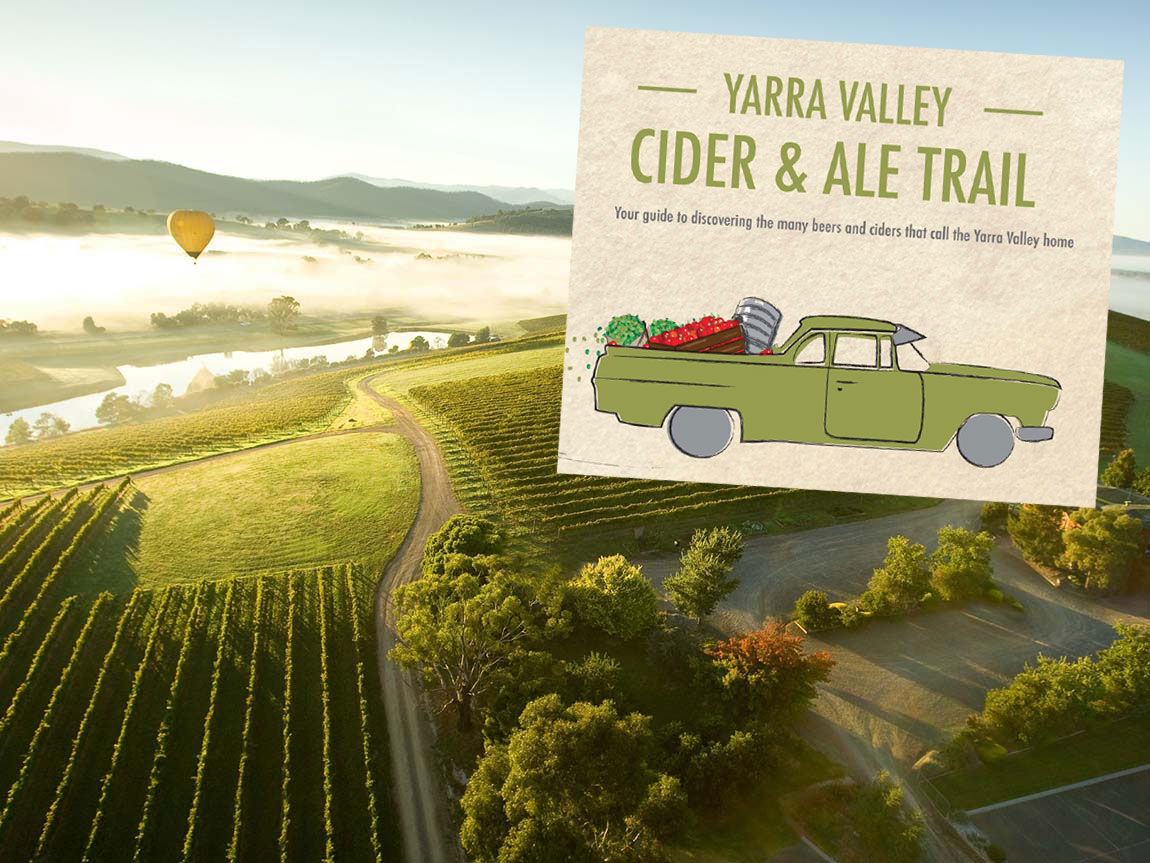 Yarra Valley Cider and Ale Trail brochure