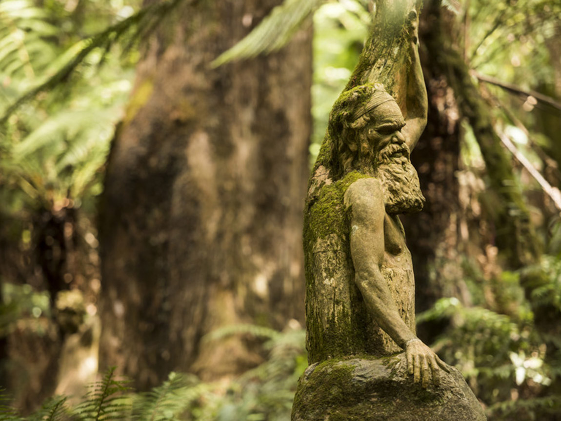 William Ricketts Sanctuary, Yarra Valley & the Dandenong Ranges, Victoria, Australia