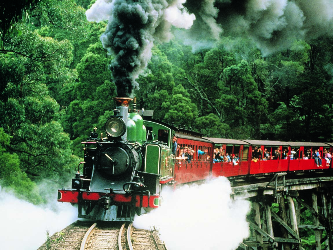 Puffing Billy Railway, Yarra Valley and Dandenong Ranges, Victoria, Australia