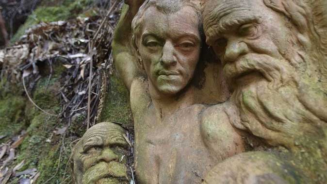 William Ricketts Sanctuary, Yarra Valley and Dandenong Ranges, Victoria, Australia