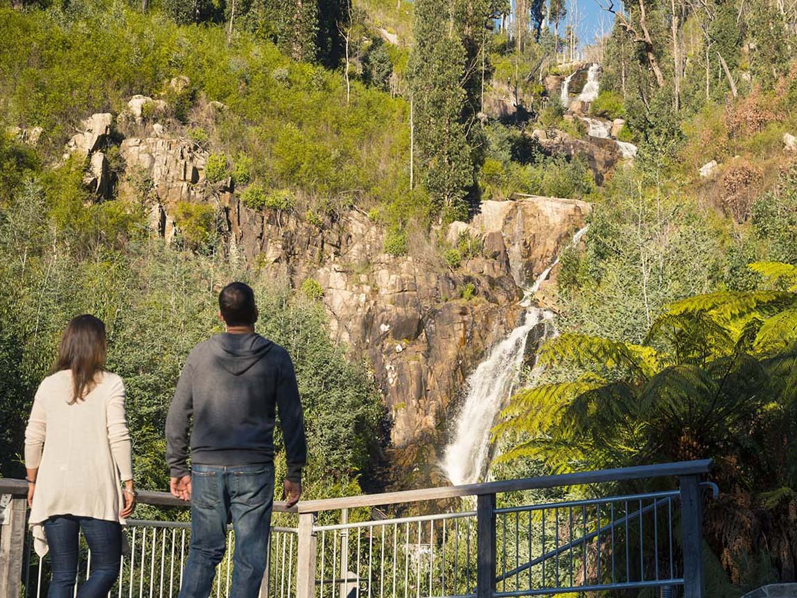 Steavensons Falls, Marysville, Yarra Valley and Dandenong Ranges, Victoria, Australia